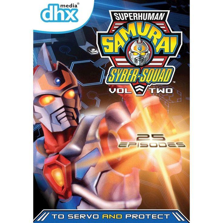 Superhuman Samurai Syber-Squad, Vol. 2 (3 Discs)