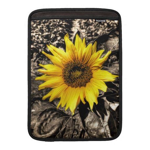 Sunflower MacBook Air Sleeves