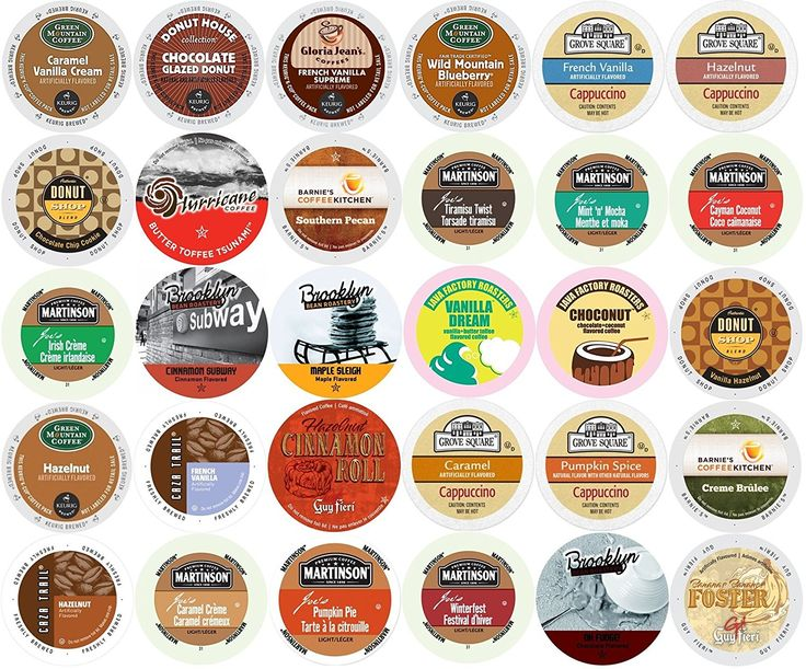 30-count K-cup for Keurig Brewers ALL FLAVORED Coffee Variety Pack Featuring Green Mountain -- Continue to the product at the image link.