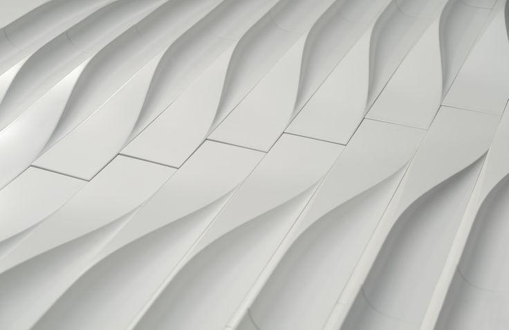'LIQUID FORMS' concrete tile design by Aybars Asci I KAZA Concrete  #Concrete #surfacedesign #tiles #KAZA #designcompetition #walkerzanger
