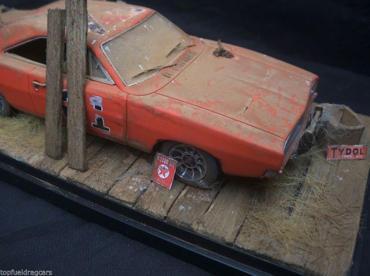 Dodge Charger Dukes Hazzard General Lee Barn Find