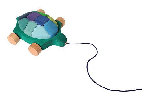 Nachziehtier Wasserschildkröte   TIERE UND FAHRZEUGE   Produkte   Grimms Spiel und Holz Design