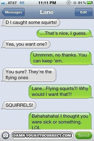 Text Funnies and It Can Wait Pledge - LOL, these are hilarious!