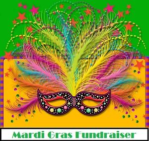 Mardi Gras Fundraiser - The most fun event for raising funds because its a total party night.