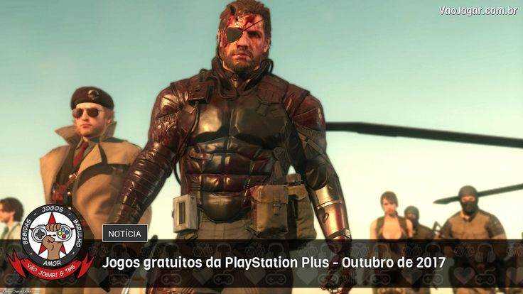 É jogo para kct na PlayStation Plus em Outubro.  #PlayStationPlus #Sony #PlayStation4 #PS4 #PlayStation3 #PS3 #PlayStationVita #PSVita #VaoJogar #VideoGames #Games #InstaGames