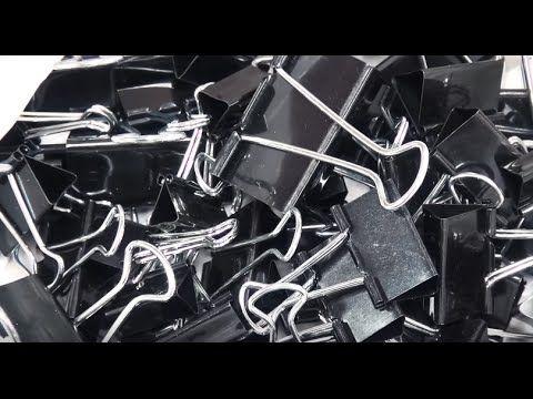 Как полезно и круто можно использовать металлические канцелярские зажимы для бумаги в повседневной жизни! Размеры зажимов: #1 - 51mm 32mm #2 - 51mm #3 - 51mm...