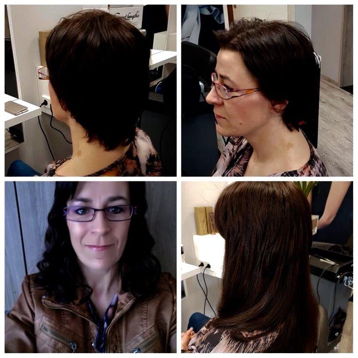 GREAT HAIR WITH GREAT LENGHTS  Francien wilde graag lange haren, super mooie haarverlenging toegepast door Maxime!
