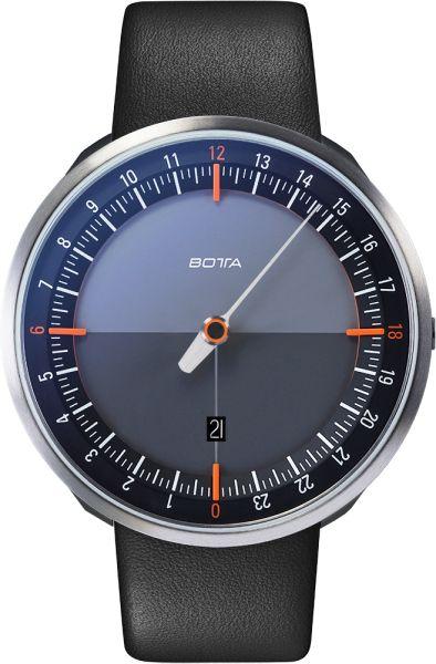 Botta Design Uno24 Plus Black-Orange Quartz Unisex Kol Saati - Taksitli Satın Al