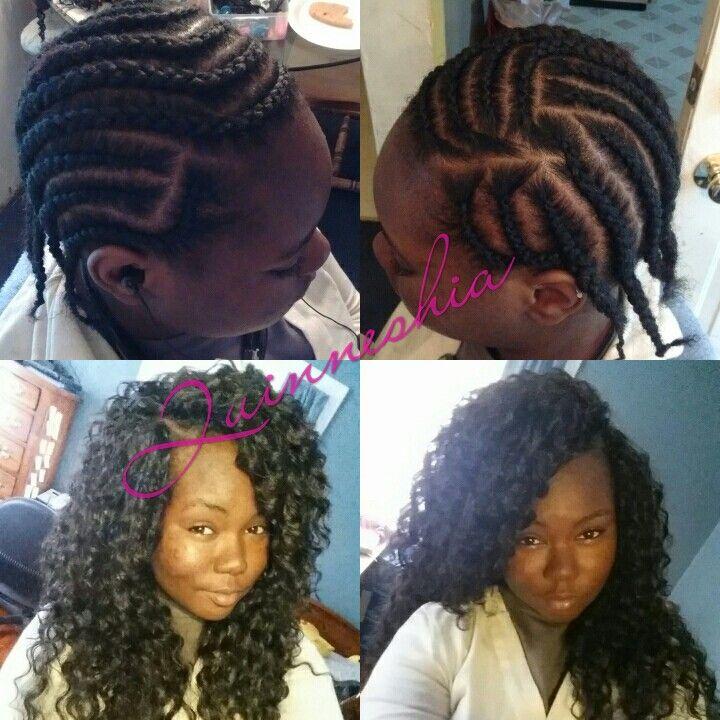 CROCHET WEAVE Instagram:Quinneshia_Creations HairStyles Pinterest ...