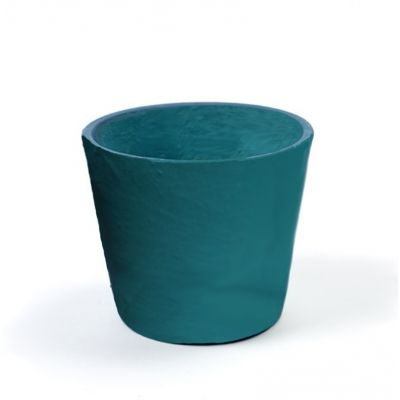 cache pot terre cuite la jolie couleur bleu lagon pastel et lumineuse le jardin de mr. Black Bedroom Furniture Sets. Home Design Ideas