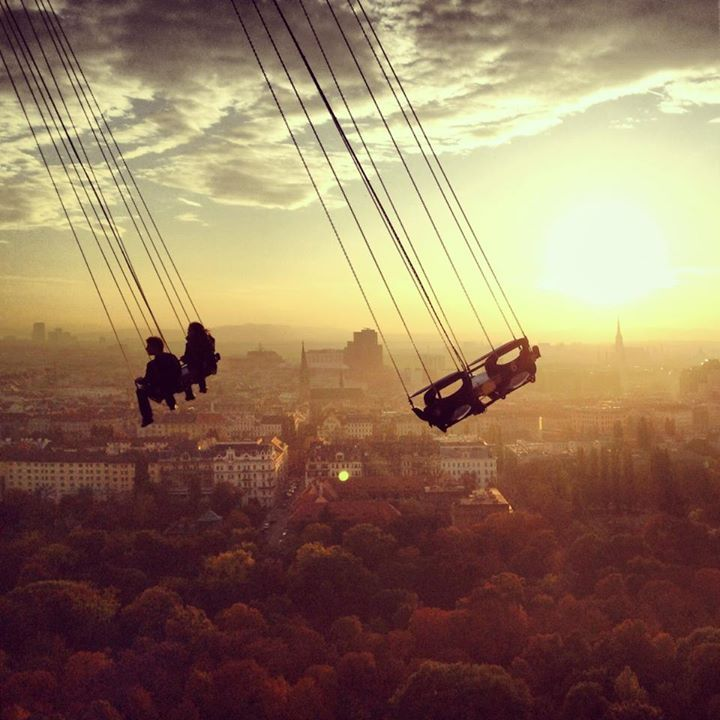 Vienna Coolest swing! So much fun one of my favorite things we did over there!!