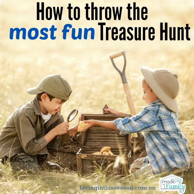 Treasure hunting is a bit more fun if you are together with your family especially with your kids. But of course, this activity is the modern way of treasure hunting.