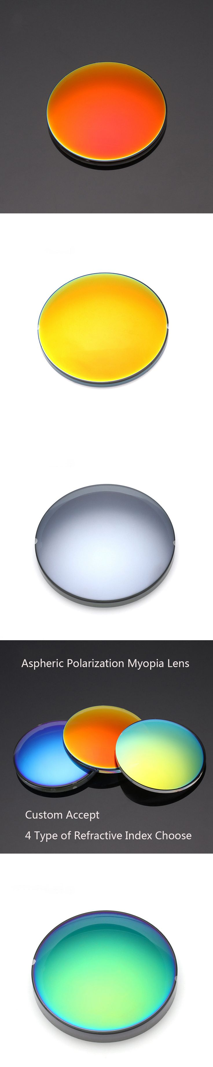 (Astigmat) Prescription Sunglasses Customize Online Accept Aspherical Polarization Myopia Lenses With above Sph-5.0 index 1.67