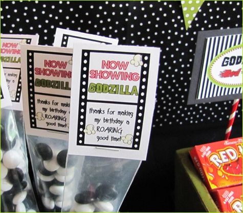 Movie Themed Birthday Party Decorations