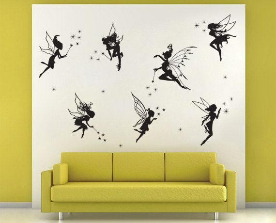 Fairy Wall Decals Charlotte Amp Isabelle S Room
