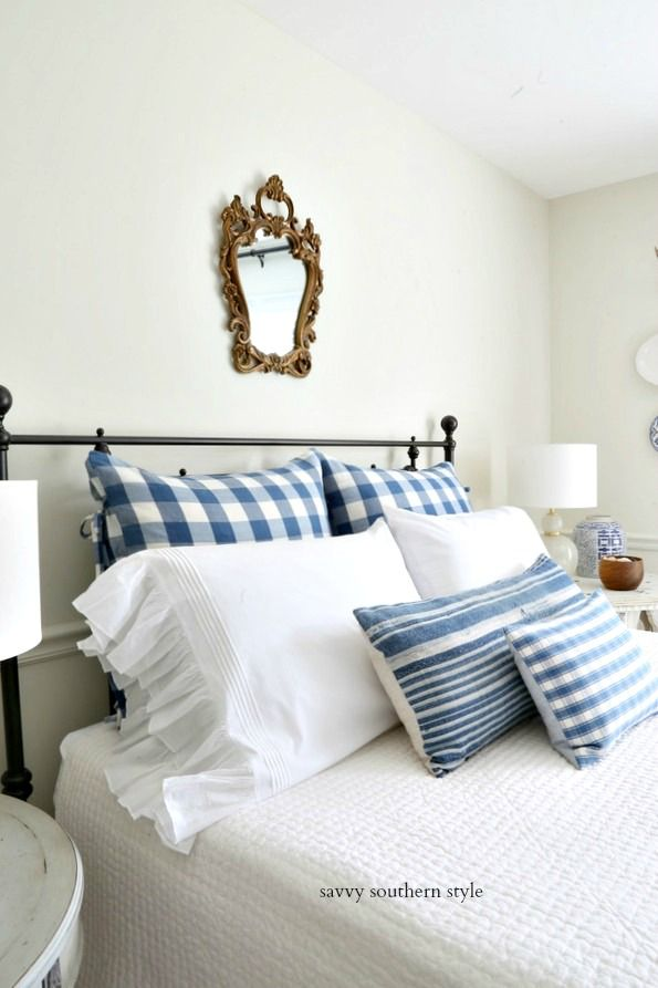 Summer In The French Style Guest Bedroom With Images French Style Bedroom French Country Bedrooms Classic Home Decor