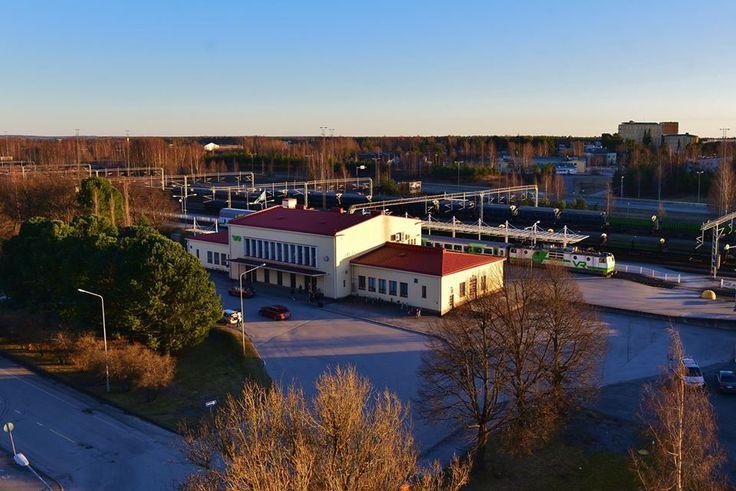 Porin rautatieasema/Orvo Lähteenmäki
