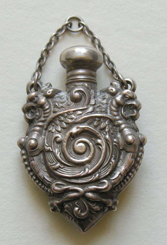 Victorian Dragon Sterling Chatelaine Perfume front.jpg.JPG (832×1216)