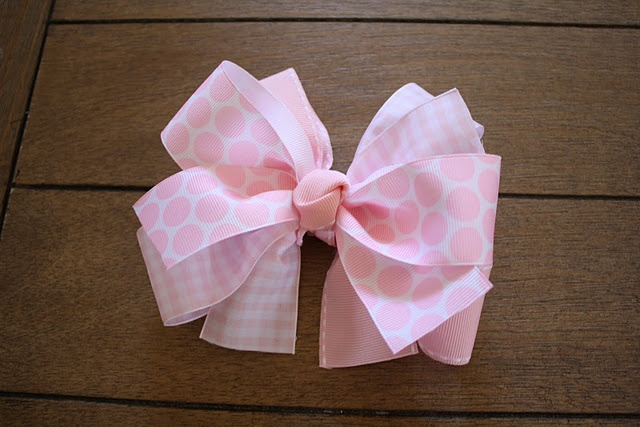 Girly bows tutorials