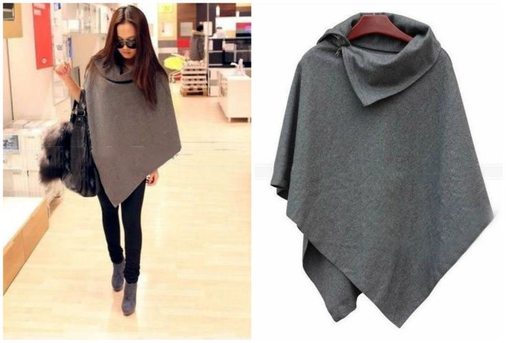 DIY Poncho:                                                                                                                                                                                 Plus