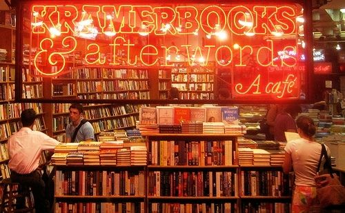 While online retailers have shuttered the majority of great, independent bookstores around the country, one still exists in Dupont Circle - Kramerbooks & Afterwards Cafe. This neighborhood institution has mixed quirky decor, unusual books and great snacks and drinks for years and they still aren't losing steam. One of my favorite things to do in DC is to grab a coffee here and look their the stacks.
