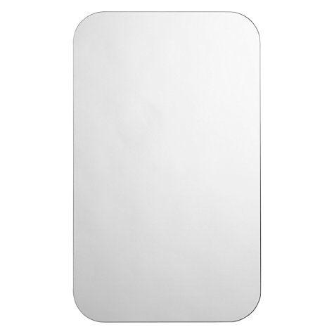 Buy John Lewis Flow Bathroom Wall Mirror Online at johnlewis.com