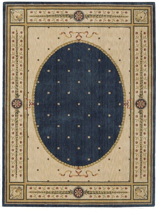 Nourison Somerset Navy ST06 Rug 8x11 $530 Incl Shipping