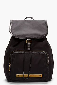 MARC BY MARC JACOBS Black Work It Baby Got Backpack on shopstyle.com                         tv