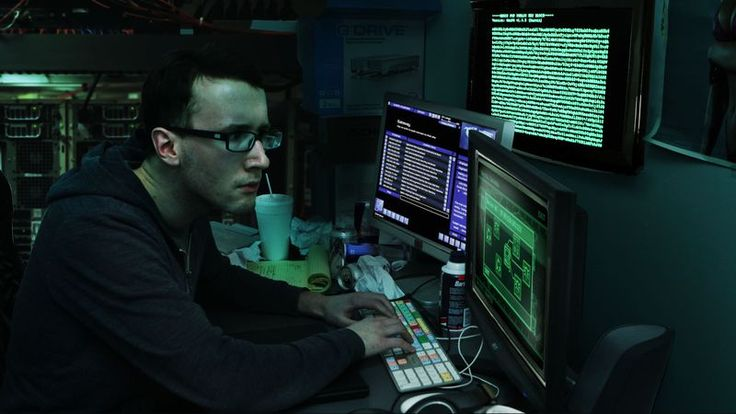 THE ONION ;) -- Fast-Talking Computer Hacker Just Has To Break Through Encryption Shield Before Uploading Nano-Virus - The Onion - America's Finest News Source