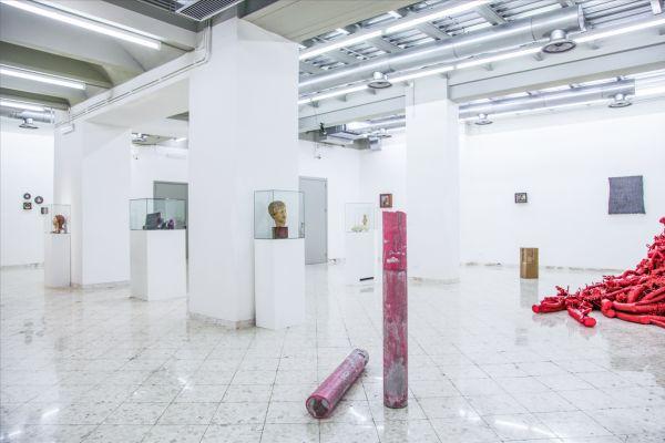 WAX. Veduta della mostra. Foto Francesco Cuttitta. Francesco Pantaleone Arte Contemporanea / Wax