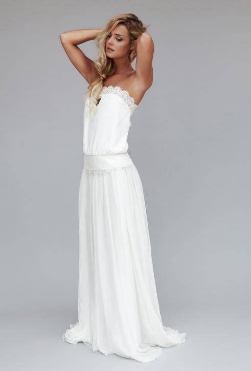 les 25 meilleures id es de la cat gorie robe de mariage simple sur pinterest robes de mari e. Black Bedroom Furniture Sets. Home Design Ideas