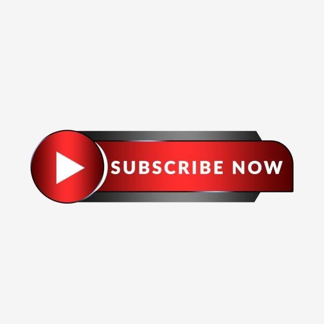 Creative Youtube Subscribe Now Button Png And Psd Jenis Huruf Tulisan Gerak Huruf