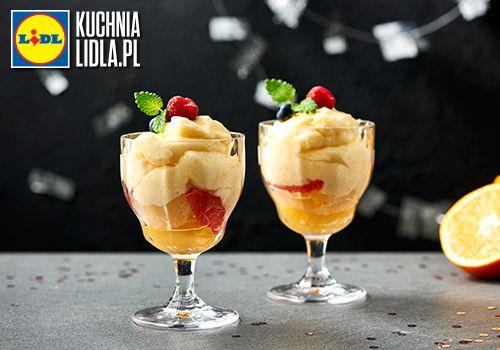 Lekka pianka pomarańczowa. Kuchnia Lidla - Lidl Polska. #pawelmalecki #deser #cytrusy