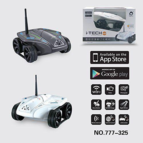 WayInn® Wifi RC cámara del tanque del coche Mini espía inalámbrica tanque Vaca feliz 777-325 para el iPhone iPod del iPad Blanca controlador-2016 nueva llegada - http://www.midronepro.com/producto/wayinn-wifi-rc-camara-del-tanque-del-coche-mini-espia-inalambrica-tanque-vaca-feliz-777-325-para-el-iphone-ipod-del-ipad-blanca-controlador-2016-nueva-llegada/