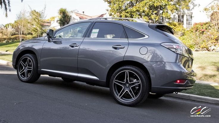 Lexus RX350 with Custom Wheels by CEC in Los Angeles CA . Click to view more photos and mod info.