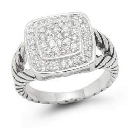 David Yurman rings inspirations and replicas @Briauna Pierce isn't this like yours??? love it