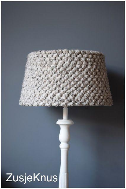 Free Pattern Crochet Lampshade : 25+ beste idee?n over Crochet Lamp op Pinterest - Gehaakte ...