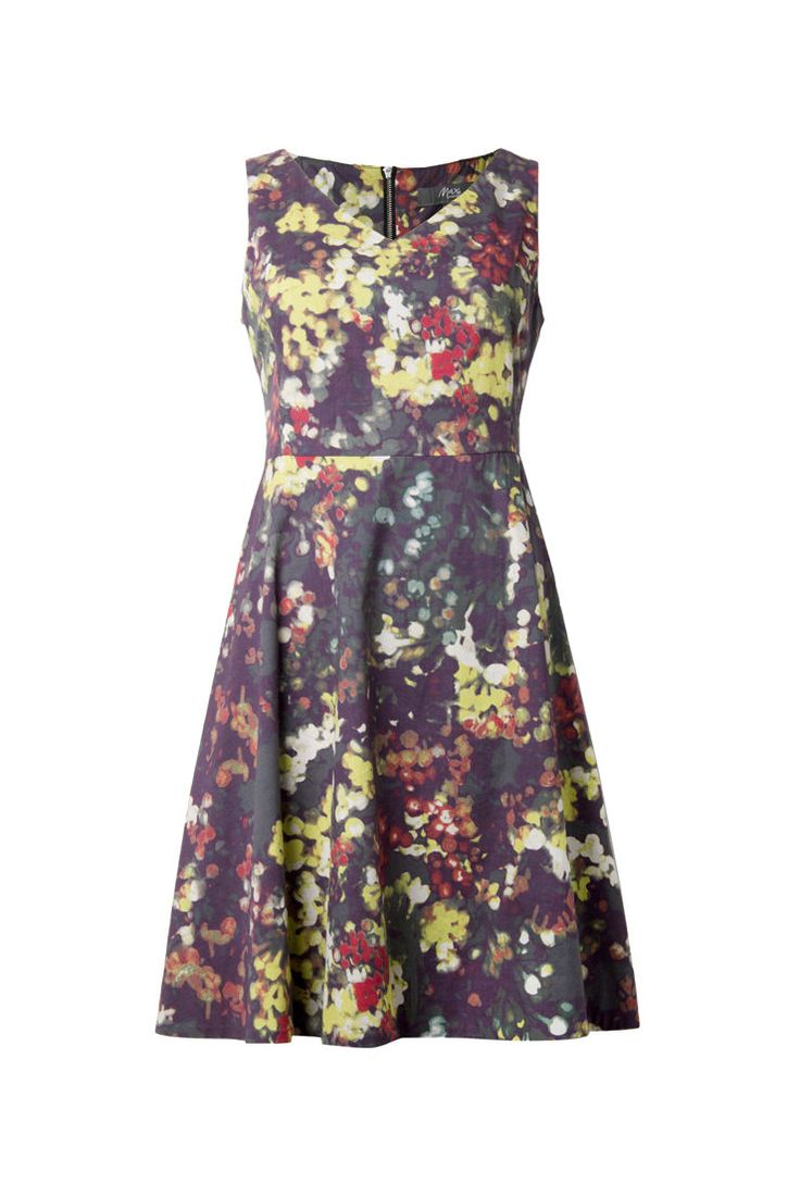Max Floral Fit and Flare Dress