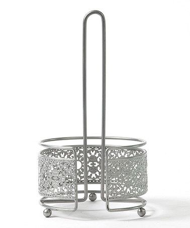 Victorian Lace Paper Towel Holder by AQ #zulily #zulilyfinds
