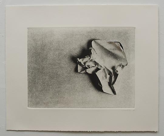 Liliana Porter, Untitled (Wrinkle VIII - horizontal), 1968-1969