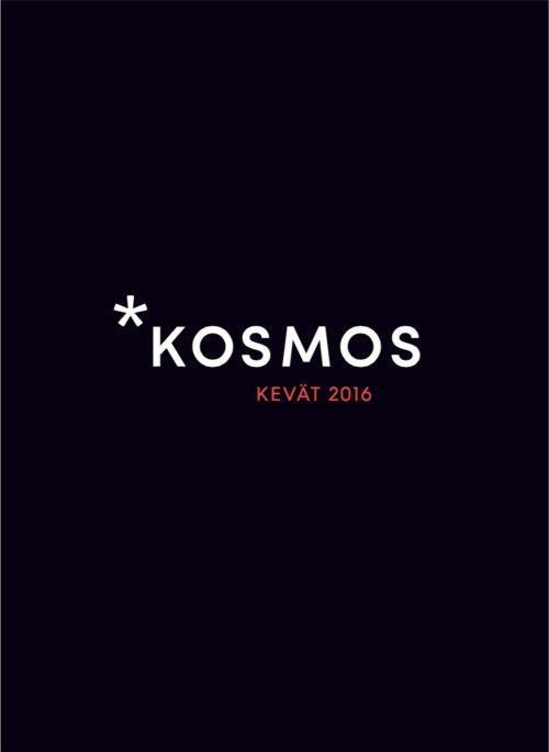 Kosmoksen kevään 2016 katalogi on nyt julkaistu