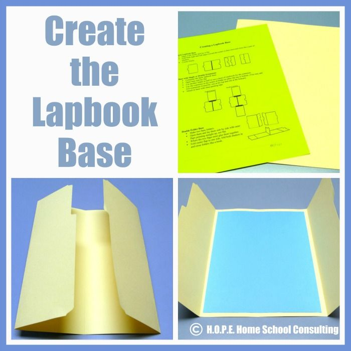 The Basics of Lapbooking - H.O.P.E. Home School Consulting Blog
