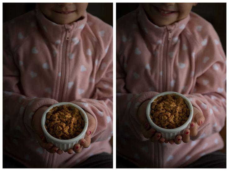 crumble di mele comfort food