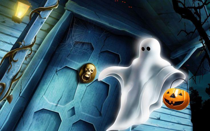 Halloween Ghost HD Wallpaper | 999HDWallpaper
