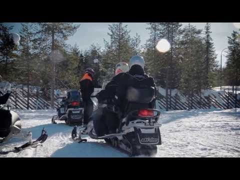 Arctic safaris in Rovaniemi in Lapland with Arctic Circle Snowmobile Park