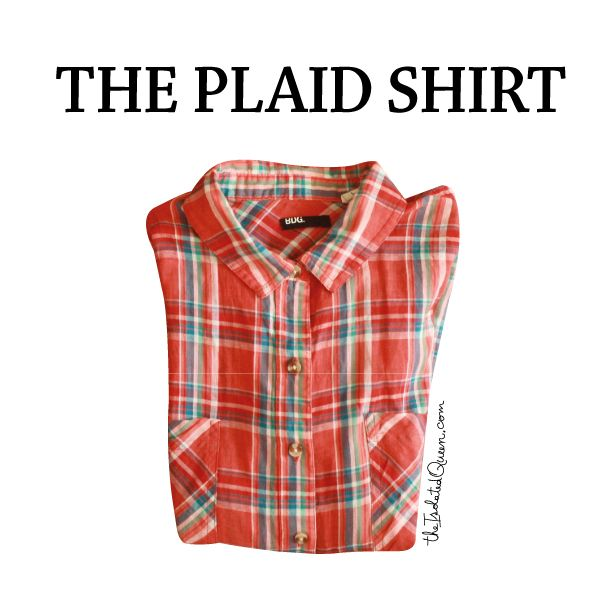 What to do with your plain plaid shirt? We give you ideas at http://theisolatedqueen.com/?p=311 !  Facebook for faster updates: https://www.facebook.com/theisolatedqueen