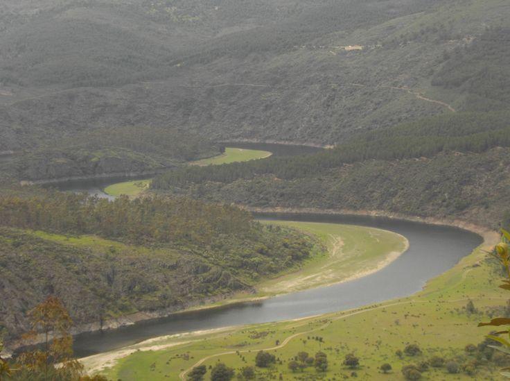 Otra foto de los meandros del río Alagón cerca de Riomalo de Abajo (Vegas de Coria).
