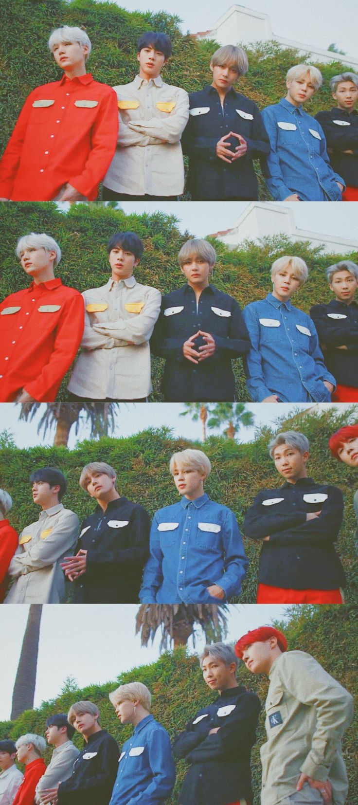 "BTS Takes on L.A. With Vogue—And It's ""Hella Lit"" ❤️✨"