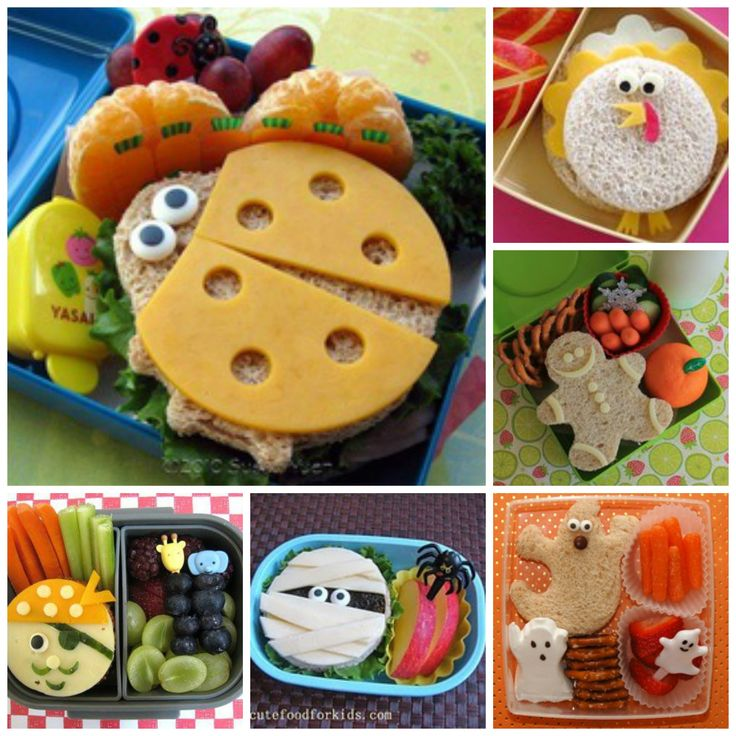 Character Foods To Make With Toddlers