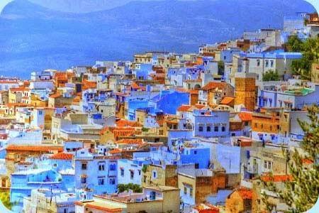 Chefchaouen, ¡¡un bellisimo pueblo Azul!!